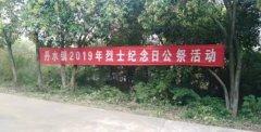 河南省西峡县丹水镇:缅怀先烈 不忘初心  展望未